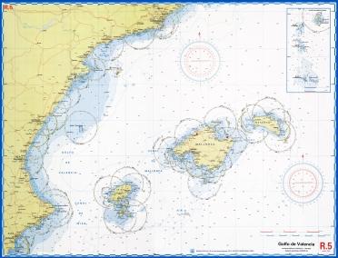 Harta nautica Baleare