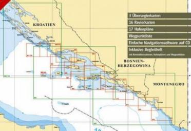 Harta nautica marea Adriatica